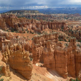 Pinnacles Viewed from Inspiration Point, in the Bryce Canyon National Park, Utah, USA Photographic Print by Tony Gervis