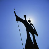 Statue, Brasilia, Brazil, South America Photographic Print by Geoff Renner