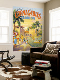 Visit Coral Gables, Florida Wall Mural