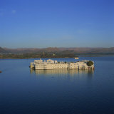 Lake Palace at Sunrise, Udaipur, Rajasthan State, India Photographic Print by Tony Gervis