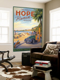 Hope Ranch Wall Mural