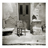 Polaroid, Oia, Santorini, Cyclades, Greek Islands, Greece Photographie par Lee Frost