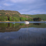 Boats and Reflections, Coniston Water, Lake District National Park, Cumbria, England, UK Photographic Print by Roy Rainford