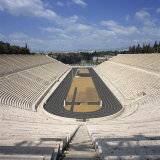 Stadium Dating from 330 BC, Restored for the First Modern Olympiad in 1896, in Athens, Greece Photographic Print by Roy Rainford
