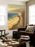 Pacific Coast Wall Mural