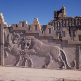 Detail from Persepolis, UNESCO World Heritage Site, Iran, Middle East Photographic Print by Robert Harding