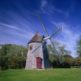 Oldest Windmill on Cape Cod, Dating from 1680, at Eastham, Massachusetts, New England, USA Photographic Print by Roy Rainford