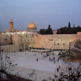 Western Wall in the 1990S, Jerusalem, Israel, Middle East Photographic Print by Robert Harding
