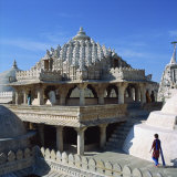 Jain Temple, Ranakpur, India Photographic Print by Tony Gervis