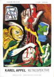 Retrospektive Collectable Print by Karel Appel