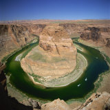 Horseshoe Bend, Colorado River, Near Page, Arizona, United States of America, North America Photographic Print by Tony Gervis
