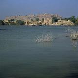 Gadi Sagar Tank, Thar Desert, Jaisalmer, Rajasthan State, India Photographic Print by Jeremy Bright