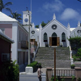 St. Peter's Church, St. Georges, Grenada, Windward Islands, West Indies, Caribbean, Central America Photographic Print by Rolf Richardson