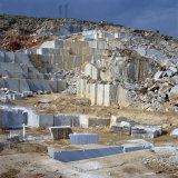 Open Cast Marble Mine, Greece, Europe Photographic Print by Tony Gervis