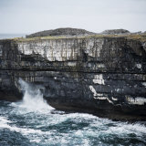 Black Fort, Aran Islands, County Galway, Connacht, Republic of Ireland, Europe Photographic Print by Andrew Mcconnell