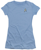 Juniors: Star Trek - Science Uniform T-shirts