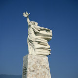 Statue of Mother Albania in Tirana, Albania, Europe Photographic Print by Rolf Richardson