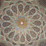 Detail of Interior of the Tomb of the Persian Poet Hafiz, Shiraz, Iran, Middle East Photographic Print by Robert Harding