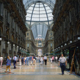 Galleria Vittoria Emanuele, the World's Oldest Shopping Mall, in the City of Milan, Lombardy, Italy Photographic Print by Tony Gervis