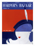 Harper&#39;s Bazaar, February 1932 Poster