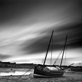 Aln Estuary at Low Tide, Alnmouth, Alnwick, Northumberland, England, UK Photographic Print by Lee Frost
