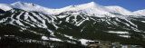 Ski Resorts in Front of a Mountain Range, Breckenridge, Summit County, Colorado, USA Photographic Print by  Panoramic Images