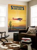 Standard Airlines, El Paso, Texas Wall Mural