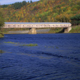 Cornish-Windsor Bridge, the Longest Covered Bridge in the Usa, Vermont, New England, USA Photographic Print by Roy Rainford