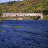 Cornish-Windsor Bridge, the Longest Covered Bridge in the Usa, Vermont, New England, USA Photographic Print by Roy Rainford
