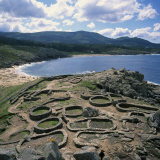 Celtic Ruins Near Porto Do Son, West Coast Castro De Barona, Galicia, Spain, Europe Photographic Print by Geoff Renner