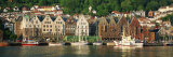 Bryggen, Old Quayside and UNESCO World Heritage Site and Bergen Harbour, Hordaland, Norway Photographic Print