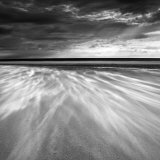 Sand Blowing across the Beach, Alnmouth, Alnwick, Northumberland, England, United Kingdom, Europe Photographic Print by Lee Frost