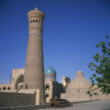 Tower of Death or Kalyan Minaret, Bukhara, Uzbekistan, Central Asia Photographic Print by Christopher Rennie