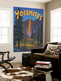 Fire Fall Wall Mural