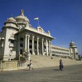 Vidhana Soudha, Bangalore, Karnataka State, India Fotografisk trykk av Rolf Richardson
