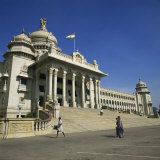 Vidhana Soudha, Bangalore, Karnataka State, India Photographic Print by Rolf Richardson