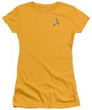 Juniors: Star Trek - Command Uniform T-shirts