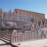 Carvings on Staircase, Persepolis, UNESCO World Heritage Site, Iran, Middle East Photographic Print by Robert Harding