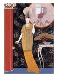 Sheherazade, France, Early 20th Century Giclée-trykk av Georges Barbier