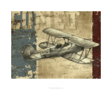 Vintage Aircraft I Limited Edition by Ethan Harper