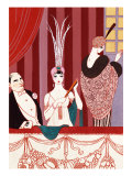 The Loge, France, Early 20th Century Giclee Print by Georges Barbier