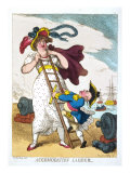 Accomodation Ladder, England, 19th Century Giclee Print by Thomas Rowlandson