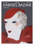 Harper&#39;s Bazaar, October 1932 Prints