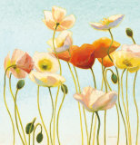 Just Being Poppies I Posters par Shirley Novak