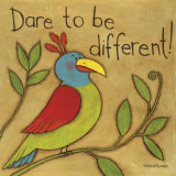 Be Different Poster von Anne Tavoletti
