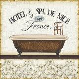 Spa and Resort II Affiche par Lisa Audit