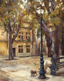 Provence Village II Reprodukcje autor Marilyn Hageman