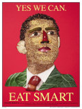 Eat Smart - Barack Obama Prints