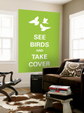 See Birds Wall Mural