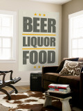 Beer, Liquor, Food Wall Mural